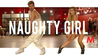 Beyonce - Naughty Girl   Choreography With Bobby Newberry