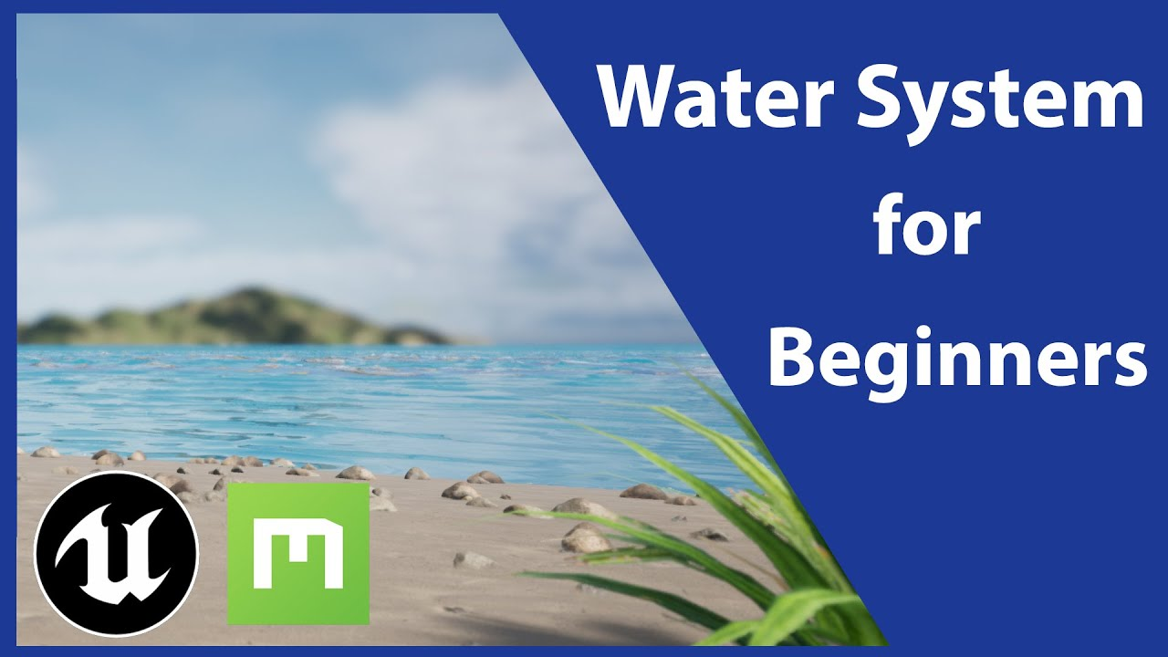 Unreal Engine 4.26 Water System Tutorial: The Basics