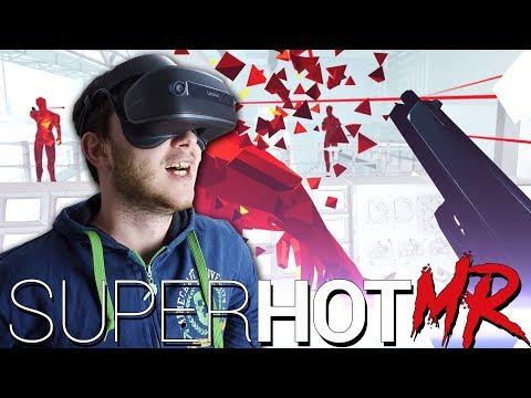 СУПЕР ГОРЯЧ В ВИРТУАЛЬНОЙ РЕАЛЬНОСТИ - SUPERHOT VR (Windows Mixed Reality)