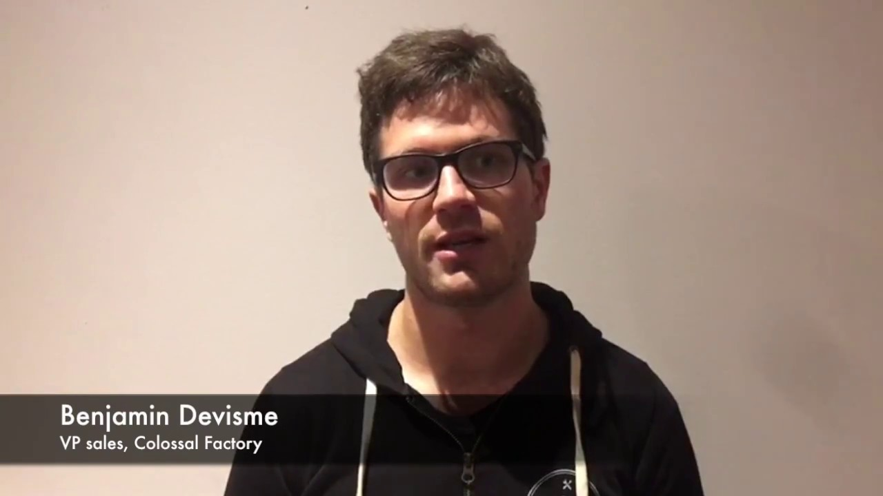 How to approach technology and AI: Benjamin Devisme, Colossal Factory