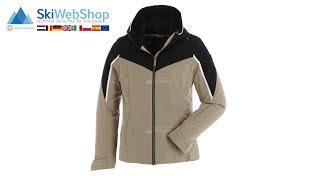 Ziener, Tafia, ski jacket, women, floral print black