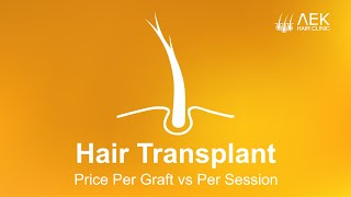 Hair Transplant Price Per Graft vs Per Session