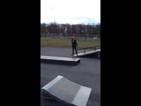 Windber Skatepark first time there