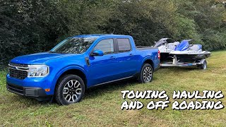 Ford Maverick Maxed Out! Pushing The Limits With Towing, Hauling, & Off-Road