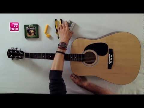 Snaren vervangen - Akoestische gitaar