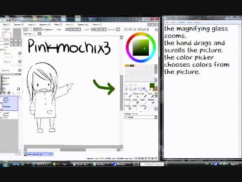 How To Move The Sidebar On Paint Tool Sai
