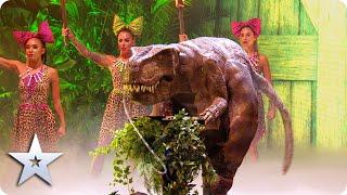 FIRST LOOK: Dario the Dinosaur is pure DINOmite | Semi-Finals | BGT 2020
