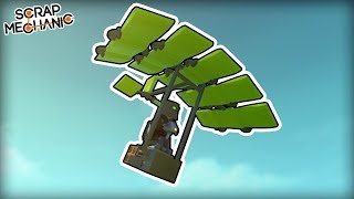 I Copied Scrapman's Parachute Perfectly Except in the Wrong Game (Scrap Mechanic Gameplay)