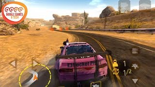 MadOut Fire Combat Race Mobile Game