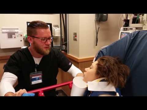 Girl proposes  to nurse on anesthesia!!!