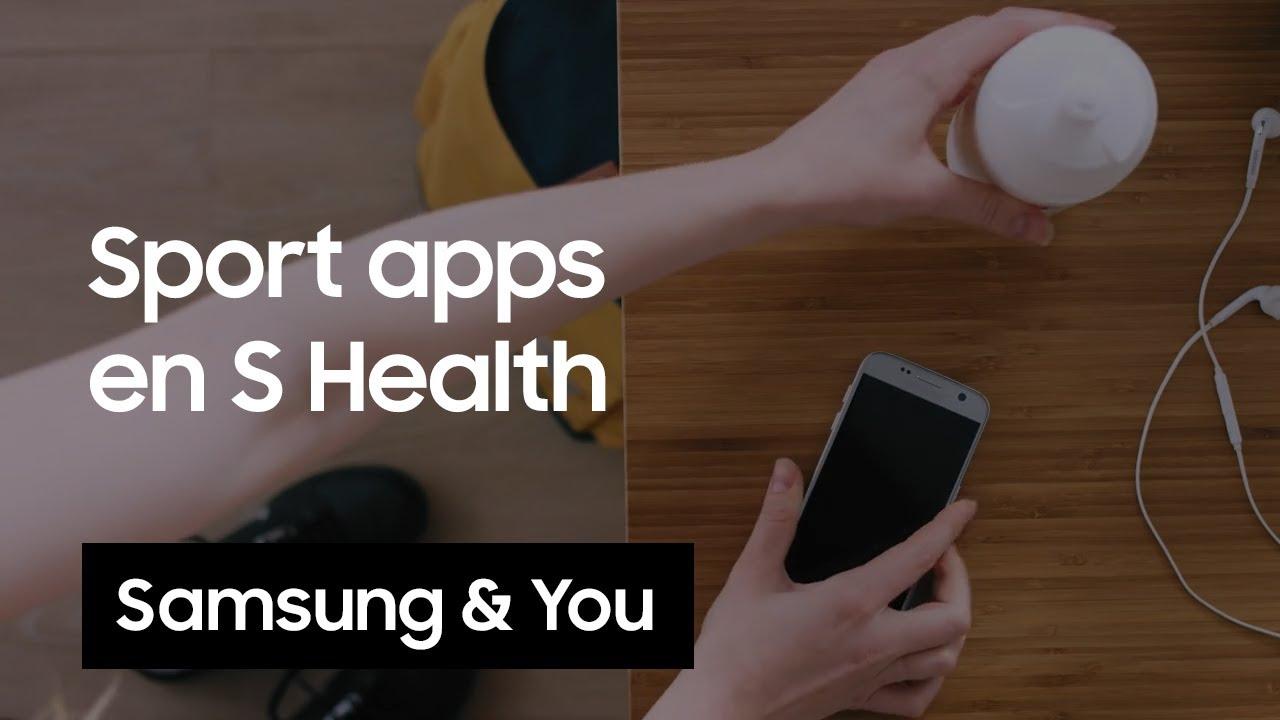 S Health: Koppel andere sport-apps in S Health