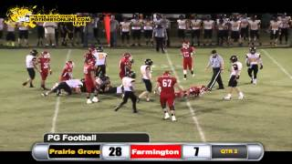 Prairie Grove (49) vs Farmington (13) 2013