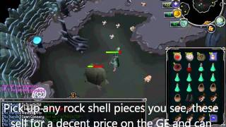 EOC Charm Guide- 700+ Gold/Other Charms/h, 110k Mage xp + profit! (giant rock crabs) [Runescape]