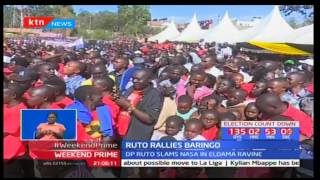 DP William Ruto scoffs at NASA's plans to set up a parallel tallying center to monitor vote count