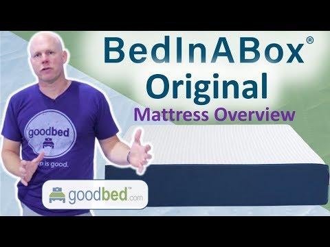 BedInABox Original Mattress Overview (VIDEO)