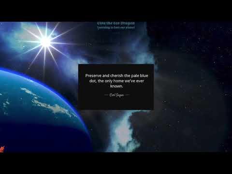 Elva the Eco Dragon, teaser version 2 0 'Climate change'