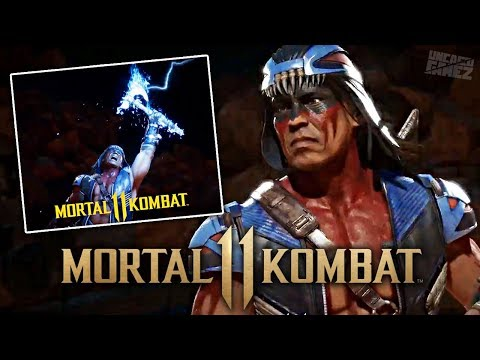 Mortal Kombat 11 - FIRST In-Game Look At Nightwolf Revealed!!