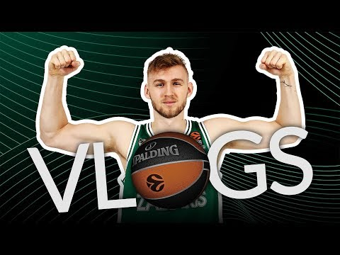 Jock Landale, Zalgiris Kaunas - VLOG 1