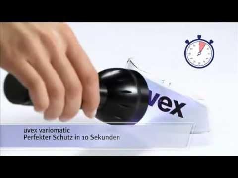 Selbsttönende UV-Schutzbrille - uvex variomatic coating (Deutsch)