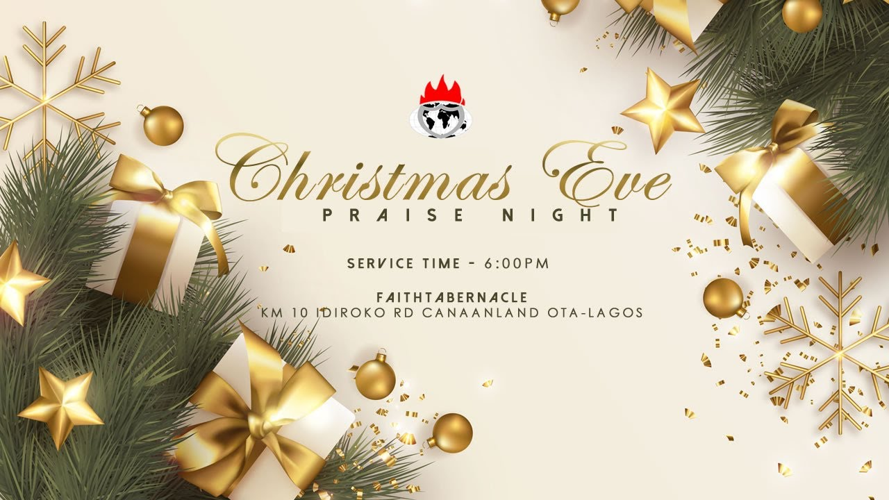 Winners Chapel Christmas Day Live Service 25th December 2020