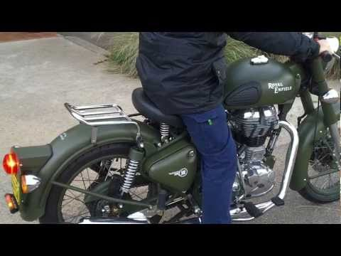 Royal Enfield C5 Military motorcycle 2011