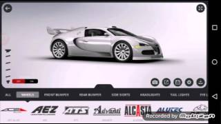 3D tuning Bugatti