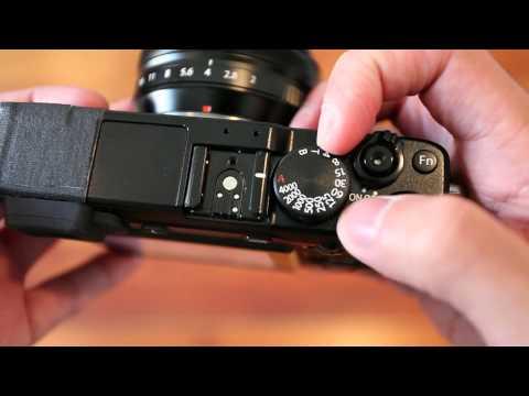 Fujifilm X-E1 Body Overview