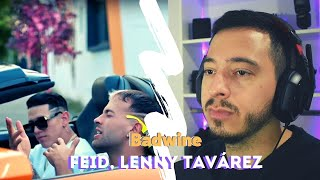 [REACCIÓN] Feid, Lenny Tavárez   Badwine (Remix)