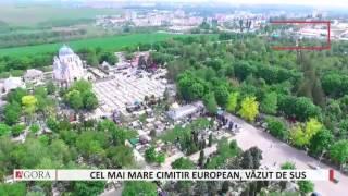 """Кладбище """"Дойна"""" в Кишиневе показали с высоты птичьего полета"""
