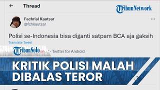 Kritik Polisi Diharapkan seperti Satpam BCA Berbalas Teror, Kontras Minta Polri Tak Anti-kritik