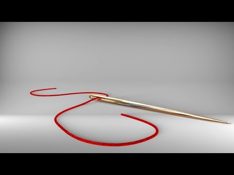 How to model needle and thread in Maya 2016