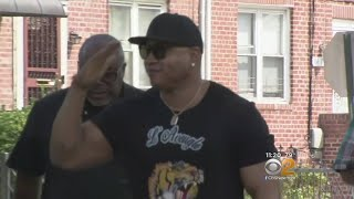 LL Cool J Gives Back In Queens