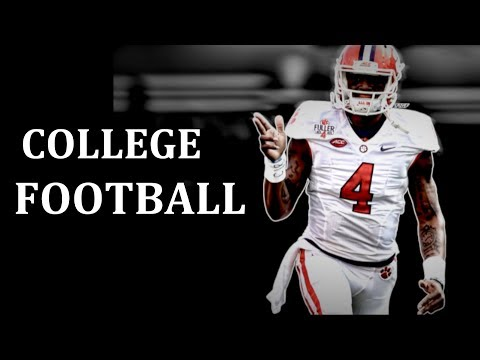 College Football Pump Up 2016-17 -