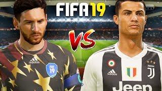 FIFA 19   รวมซุปเปอร์ส สตาร์ อาดิดาส VS ยูเวนตุส   โครตแมตช์ มันส์ระห่ำ !!