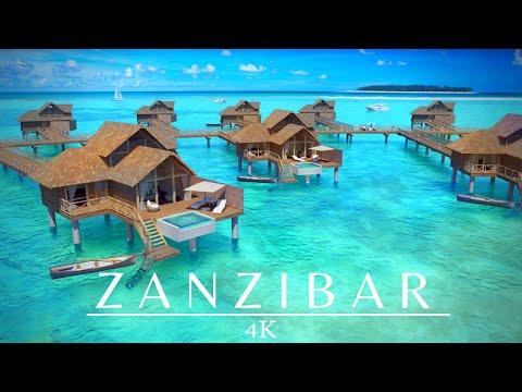 סרטון 4K מרהיב של המראות והחופים בזנזיבר