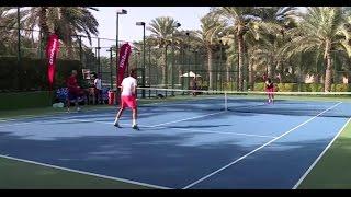 Roger Federer Practice in Dubai - 22nd of December 2016