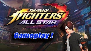 THE KING OF FIGHTERS ALLSTAR - Gameplay