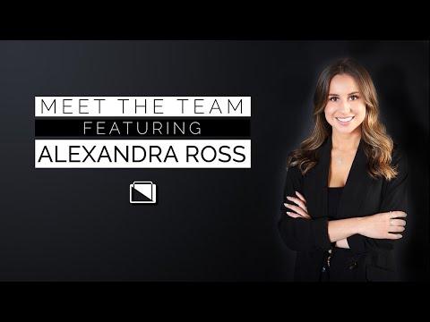 Meet the Team ft. Alexandra Ross