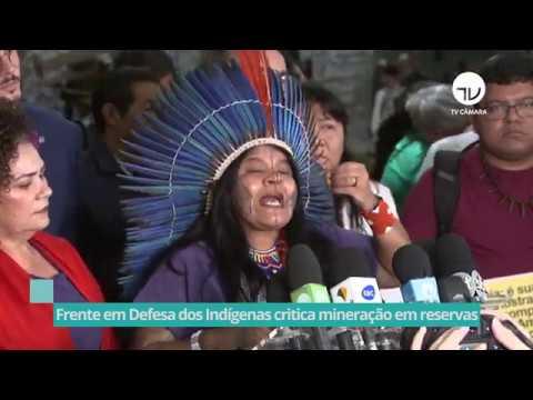 FP em Defesa dos Indígenas critica mineração em reservas - 18/02/20