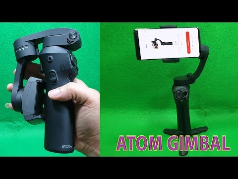 Unboxing Handheld Steady ATOM Gimbal for Smartphone