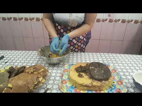 Как сформировать торт в виде цыплёнка