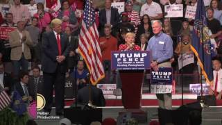 Donald Trump with Parents of Riley Rone | November 4th, 2016 | Hershey, PA