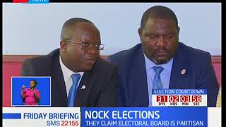 NOCK ELECTIONS: A number of NOCK officials claim the electoral board is partisan