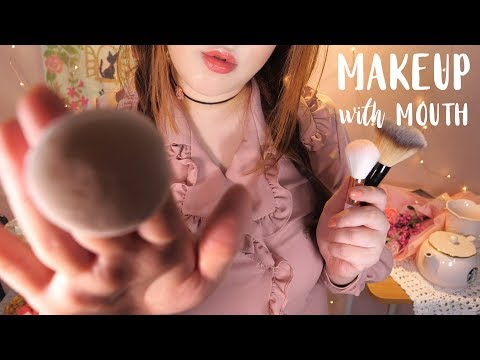 ASMR Gosh, Makeup with Mouth! 👄💄 (Cosmetics, Touching Face, Personal Attention)