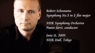 Schumann: Symphony No.3 in E flat major - P. Järvi / NHK Symphony Orchestra