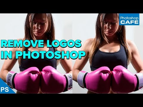 REMOVE logos from photos quickly in PHOTOSHOP tutorial | Remove branding