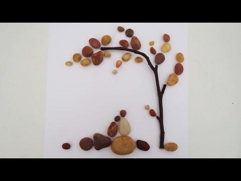 Bild aus Steinen * Stone Art [eng sub]