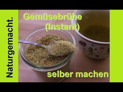 🍵🍴 Gemüsebrühe selber machen! Pulver Rezept! Vorrat: Bio und gesund!