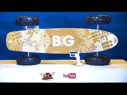 RC ADVENTURES - Unboxing A FiiK BiG DADDY Offroad Electric Radio Controlled Skateboard