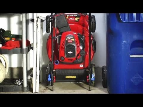 2019 Toro 22 in. Variable Speed High Wheel Mower with SMARTSTOW in Mansfield, Pennsylvania - Video 1